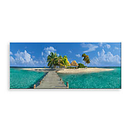 Welcome to Paradise Canvas Print 58-Inch x 18-Inch Wall Art