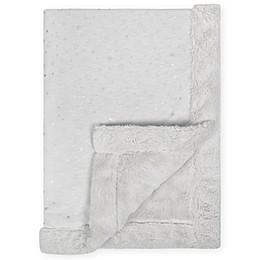 Just Born® Sparkle Sherpa Blanket in Grey