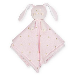 Just Born® Sparkle Bunny Security Blanket in Pink