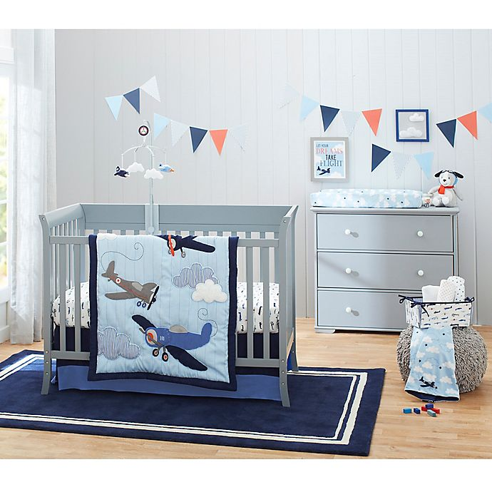 Alternate image 1 for carter's® Take Flight Crib Bedding Collection
