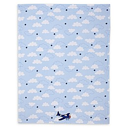 carter's® Take Flight Baby Blanket in Blue