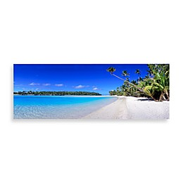 Christopher Knight Collection Blue Lagoon Canvas Print 58-Inch x 18-Inch Wall Art