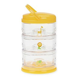 Innobaby Packin' SMART™ Twistable 3-Tier Stackable Containers in Mango