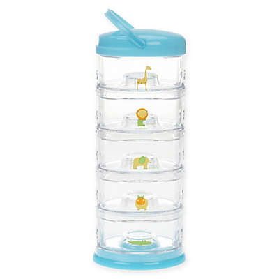 Innobaby Packin' SMART 5-Tier Zoo Animal Stackable Container Set
