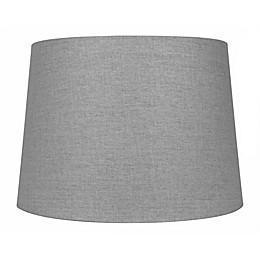 Large 10-Inch Hardback Lamp Shade in Grey