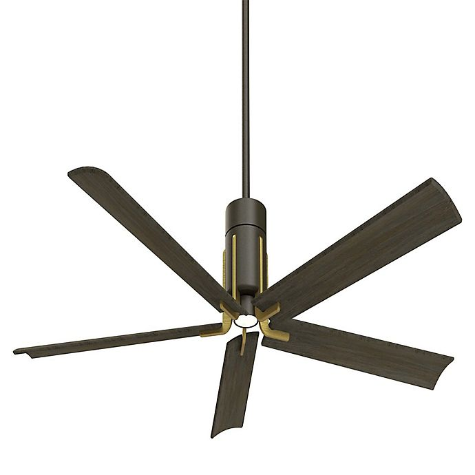 Alternate image 1 for Minka-Aire® Shade Single-Light Ceiling Fan with Remote Control