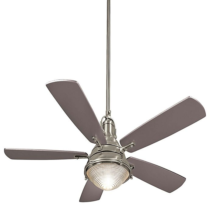 Alternate image 1 for Minka-Aire® Groton 56-Inch Two-Light Indoor/Outdoor Ceiling Fan