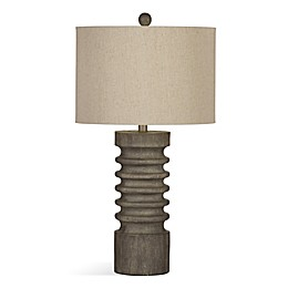 Langdon Table Lamp in Grey Wash
