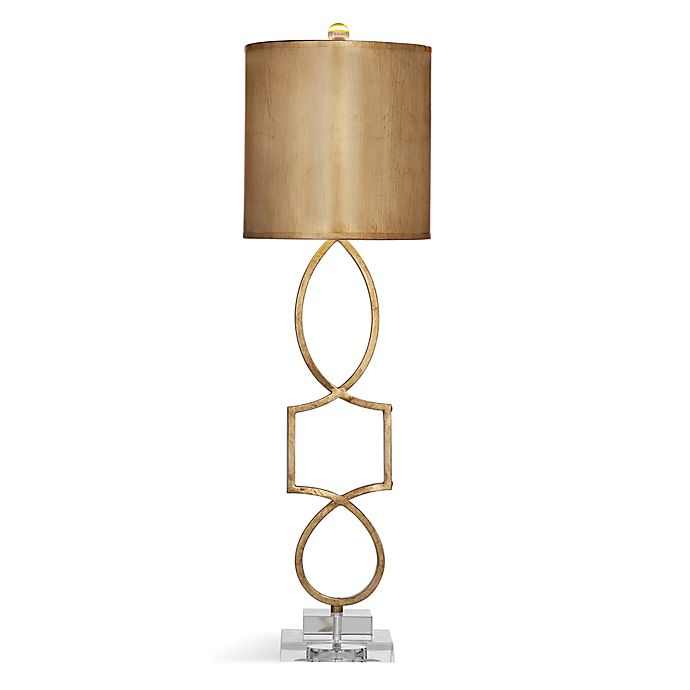 Bassett Mirror Table Lamp In Gold Leaf Bed Bath Beyond