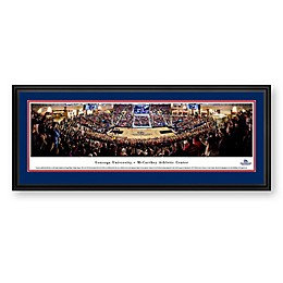 Gonzaga University Panoramic Print with Deluxe Frame