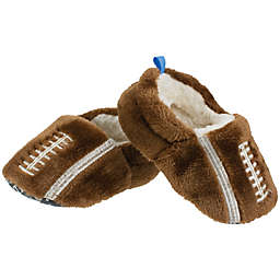 Sleepy Time Football Slipper in Brown