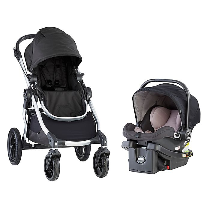 Alternate image 1 for Baby Jogger® City Select® Travel System in Oynx