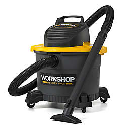 WORKSHOP Wet/Dry Bagless Vacuum with Wand Attachment