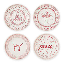 ED Ellen DeGeneres Crafted by Royal Doulton® Holiday 6-Inch Accent Plates (Set of 4)