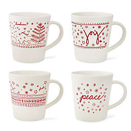 ED Ellen DeGeneres Crafted by Royal Doulton® Holiday Mugs (Set of 4)