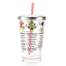 Kikkerland® Smoothie Recipe Glass