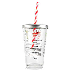 Kikkerland® Frozen Cocktail Recipe Glass