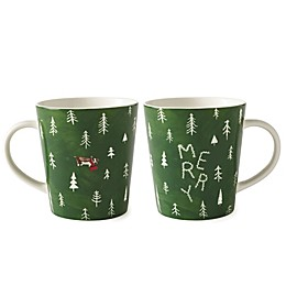 "ED Ellen DeGeneres Crafted by Royal Doulton® ""Merry"" Mug"