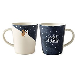 "ED Ellen DeGeneres Crafted by Royal Doulton® ""Let it Snow"" Mug"