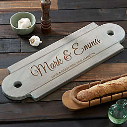 Classic Couple Walnut Serving Board
