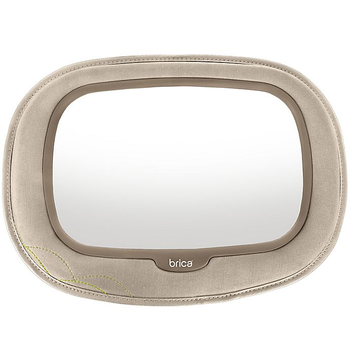 Alternate image 1 for Brica® Baby In-Sight® Car Back Seat Mega Mirror in Tan