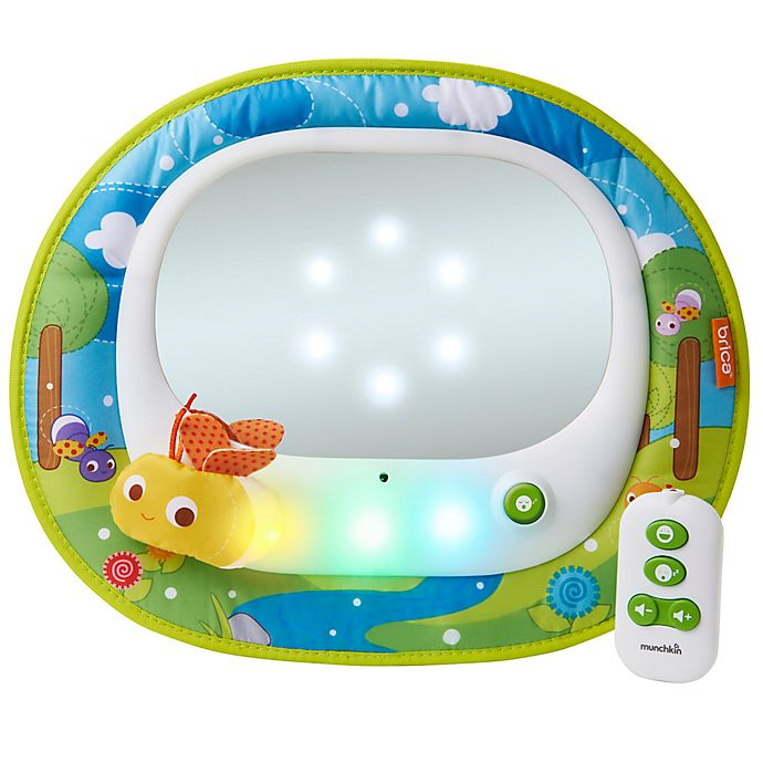 Alternate image 1 for Brica® Baby In-Sight® Magical Firefly™ Car Back Seat Mirror in Green