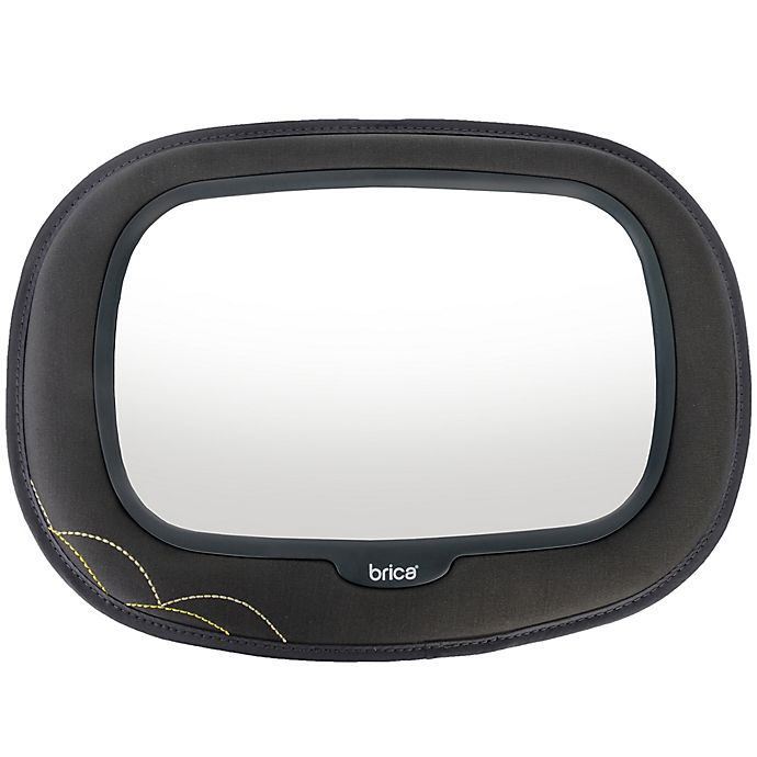Alternate image 1 for Brica® Baby In-Sight® Car Back Seat Mega Mirror in Grey