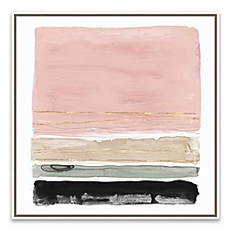 Rothko's Stripes II 19-Inch Square Canvas Wall Art