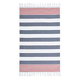 Linum Home Textiles Patriotic Pestemal Beach Towel