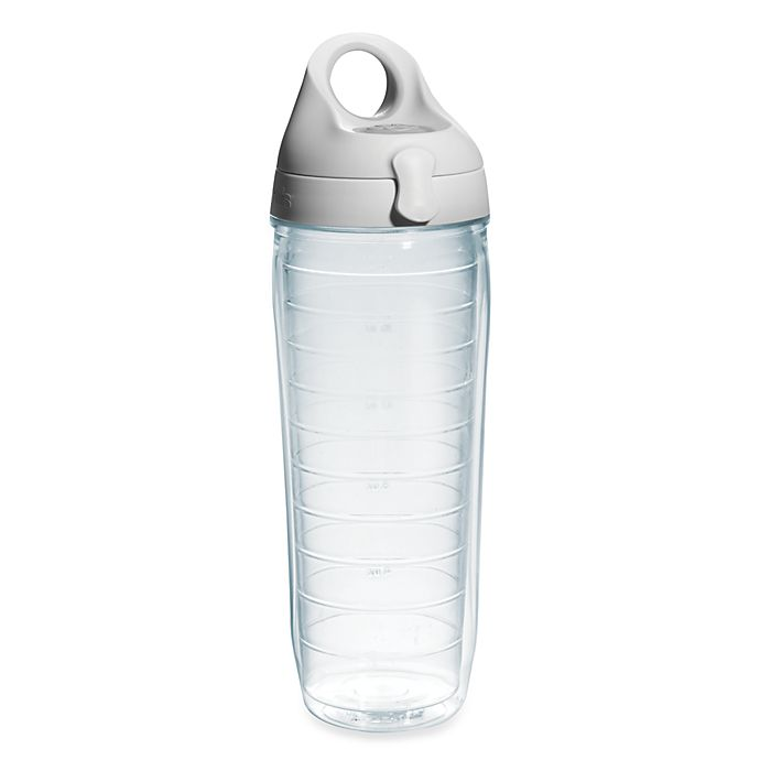 Alternate image 1 for Tervis® 24 oz. Water Bottle with Lid in Clear