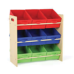 Tot Tutors Kids Toy Storage Organizer in Natural