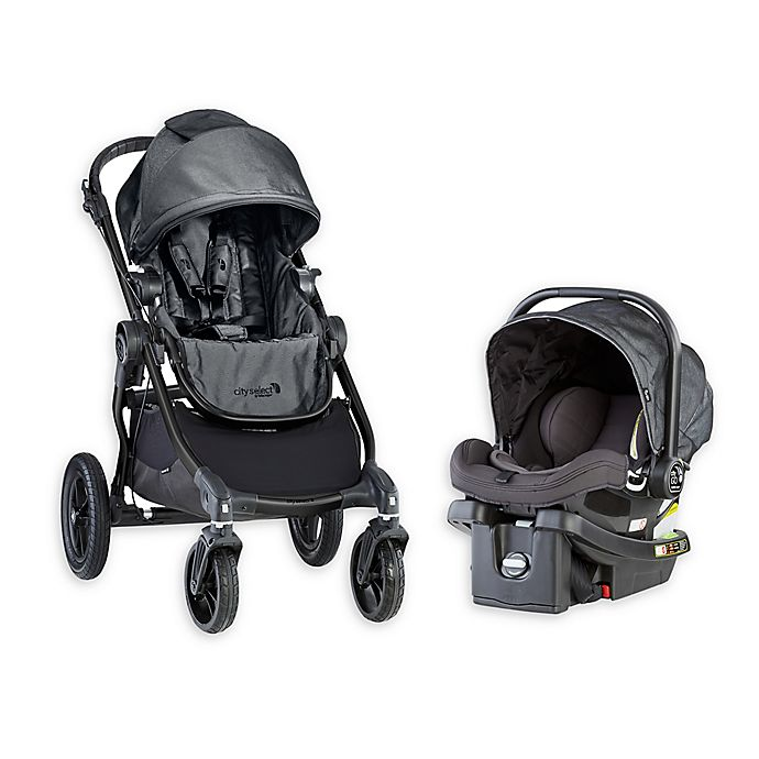 Baby Jogger City Select Travel System In Charcoal Bed Bath Beyond
