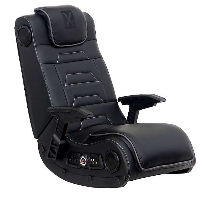 Pleasing X Rocker Wireless Audio Gaming Chair In Black Bed Bath Short Links Chair Design For Home Short Linksinfo