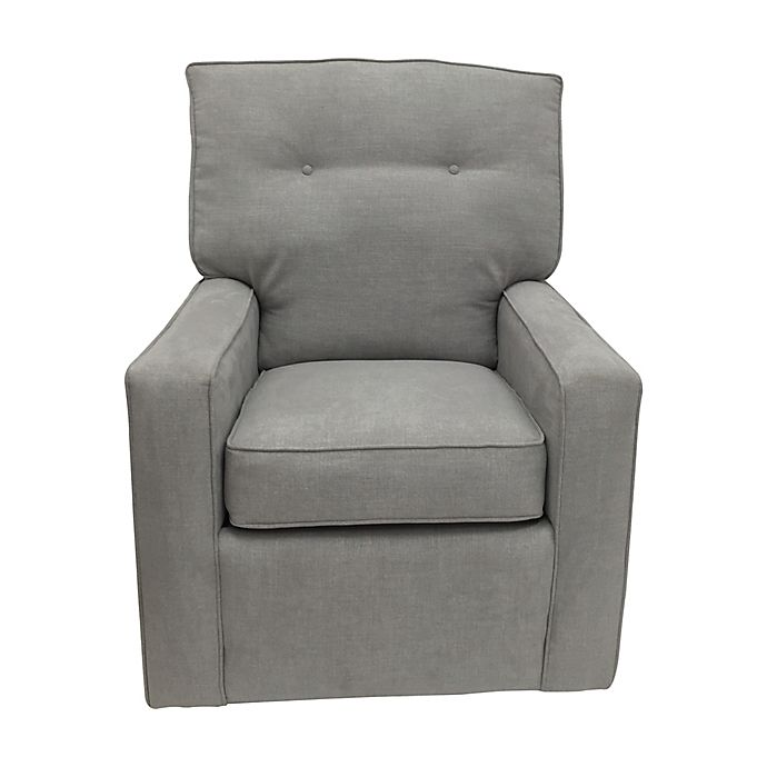 Alternate image 1 for The 1st Chair™ Venus Swivel Glider Chair in Dolphin