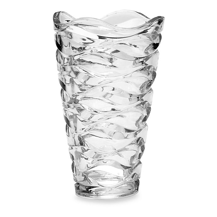 Mikasa 174 Atlantic 11 Inch Crystal Vase Bed Bath Amp Beyond