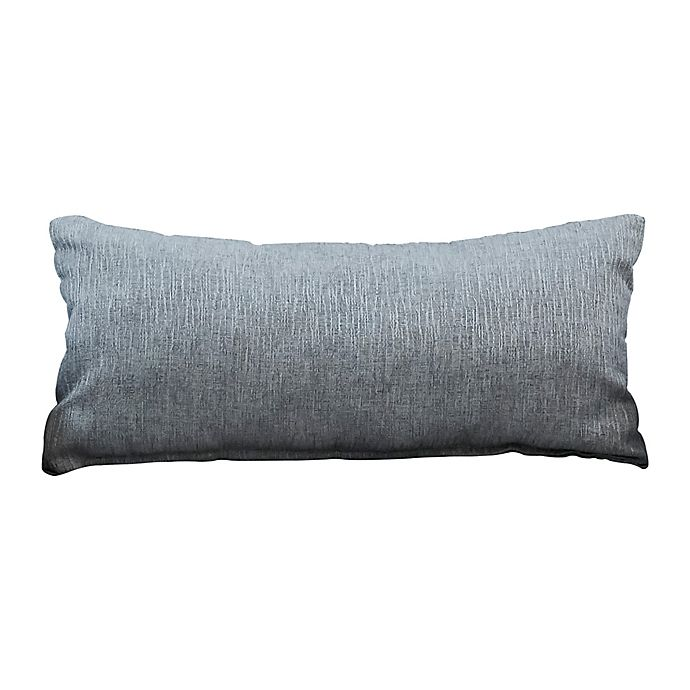 Alternate image 1 for The 1st Chair™ Oblong Throw Pillow in Greyhound Grey