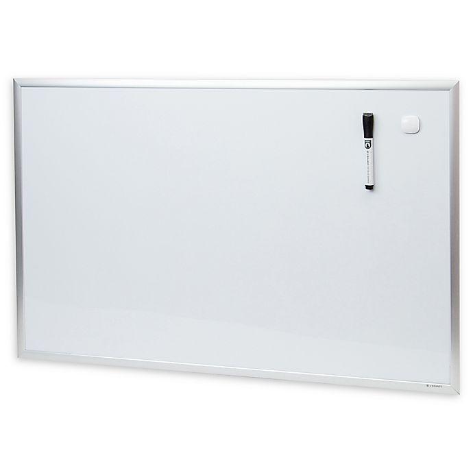 Alternate image 1 for Metal-Framed Magnetic Dry Erase Board