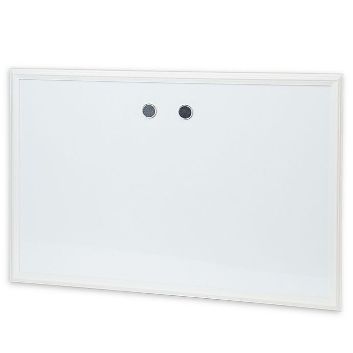 Alternate image 1 for Wood Frame Magnetic Dry Erase White Board