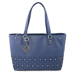 Marina Galanti Triangolo Tote in Blue