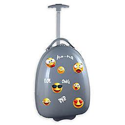 Mojo Emoji Kids Pod 18-Inch Hardside Carry On Luggage