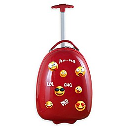 Mojo Emoji Kids Pod 18-Inch Hardside Carry On Luggage