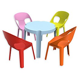 Resol Rita Kids 5-Piece Table and Chair Set