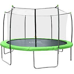 Pure Fun Dura-Bounce 12-Foot  Trampoline with Enclosure