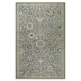 Shabby Chic Chandler Power-Loomed Rug in Grey/Blue