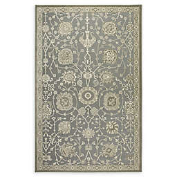 Shabby Chic Chandler Power-Loomed Rug in Grey