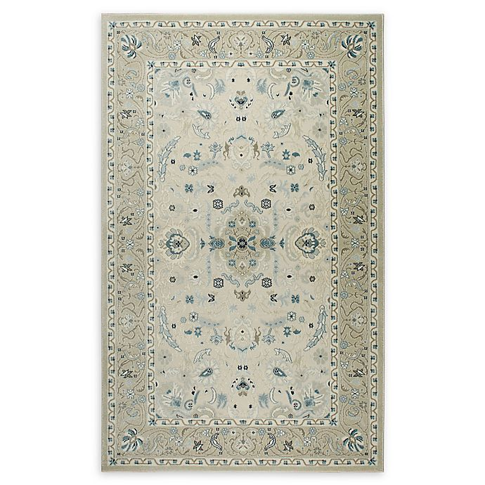 Alternate image 1 for Shabby Chic Chandler 9'2 x 12'9 Power-Loomed Area Rug in Ivory