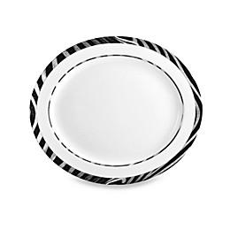Mikasa® Wild Zebra 15-Inch x 13-Inch Oval Platter