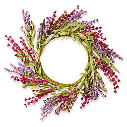 National Tree Company® 20-Inch Lavender Artificial Wreath in Purple