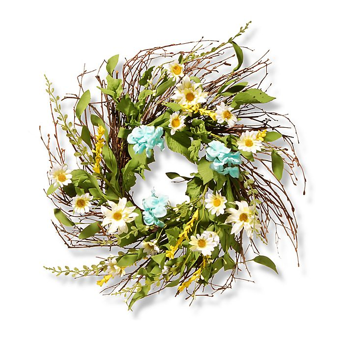 Alternate image 1 for National Tree Company 22-Inch Sunflower Artificial Wreath