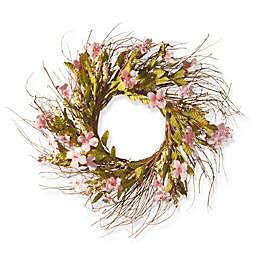 National Tree Company 22-Inch Dogwood Flowers Artificial Wreath